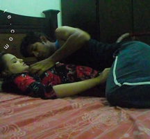 Vid gallery 1. Sonia in bed getting seduced by sunny late night